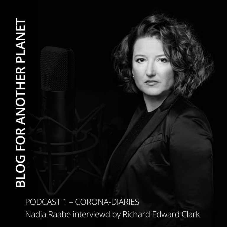 Podcast 1 – with Nadja Raabe interviewed by Richard Edward Clark