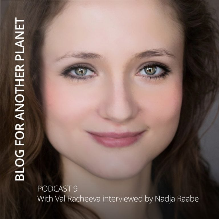 Podcast 9 – with Val Racheeva interviewed by Nadja Raabe